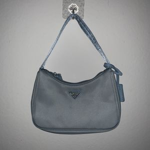 Prada Re-edition Nylon Mini Bag (Astral Blue) for Sale in Fullerton, CA