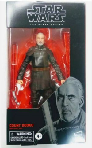 Star Wars Black Series Count Dooku Collectible Action Figure Toy for Sale in Chicago, IL