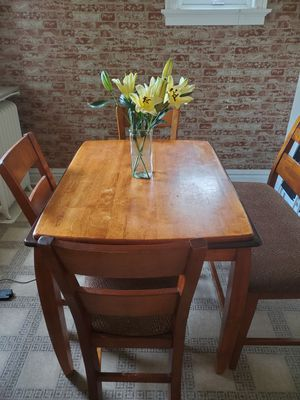 High top wooden kitchen table for Sale in St. Louis, MO