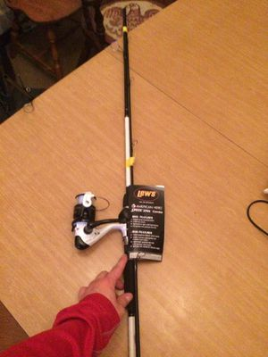 Brand new fishing rod premium 8lb line for Sale in Baden, PA