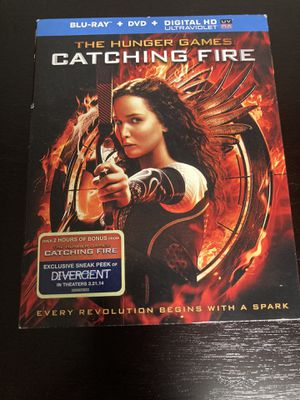 The Hunger Games Catching Fire - Blu-ray & DVD for Sale in Issaquah, WA