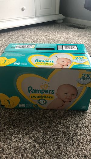 Pampers 96 count for Sale in Columbia Station, OH