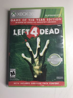 Xbox 360 game - Left 4 Dead for Sale in Del Valle, TX