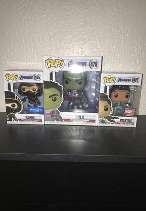 Marvel Avengers Funko Pop Bundle for Sale in El Paso, TX