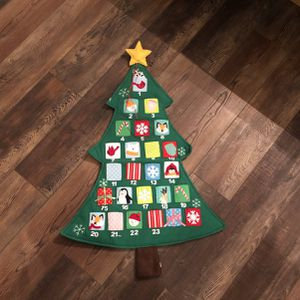 Christmas Countdown Calendar for Sale in Mechanicsburg, PA