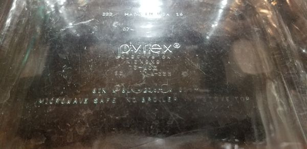 3 Pyrex Glass 9x12 2 Pryex Glass 8x8