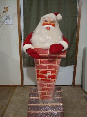 Santa in chimmy for Sale in Olympia, WA