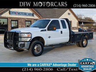 2015 Ford F350 Super Duty Super Cab & Chassis for Sale in Grand Prairie,  TX