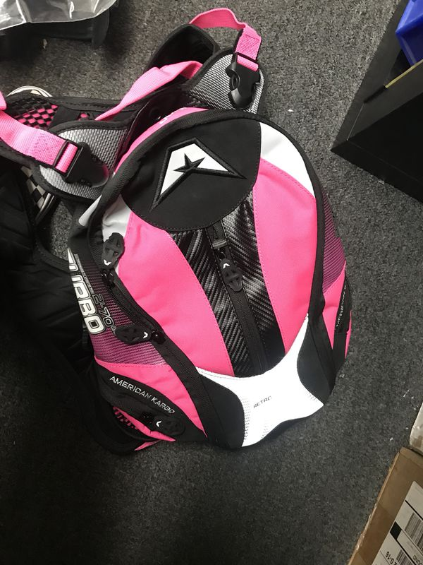 AK pink backpack