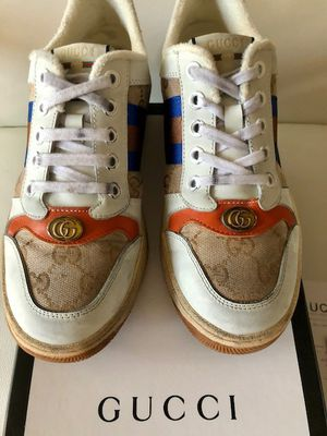 Gucci Women's Screener Leather Sneakers for Sale in Beverly Hills, CA