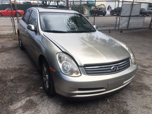 2003 Infiniti G35, Complete Partout. Mint Condition! for Sale in Hollywood, FL