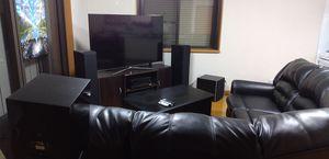 Furniture + speakers complete home theater for Sale in La Mesa, CA