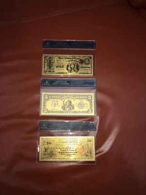 Collectibles bank notes for Sale in Hialeah, FL