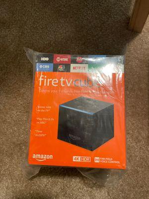Amazon fire TV cube for Sale in San Francisco, CA