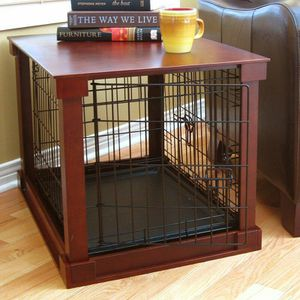 XL DOG CAGE (END TABLE WOOD) for Sale in Farmville, VA
