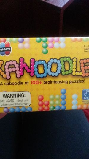 Kanoodle brainteasing puzzle game for Sale in Oceanside, CA