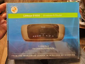 Linksys Wireless N router BNIB for Sale in Hutto, TX