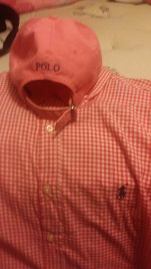 Polo Ralph Lauren shirt & Polo Hat for Sale in Doraville, GA