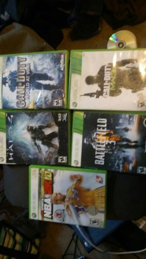 Xbox 360 game pack for Sale in Pittsburgh, PA
