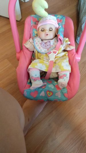 Baby doll and baby carrier for Sale in Cleveland, OH
