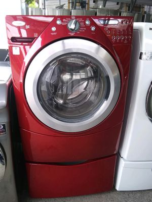 Festival Appliances and Furniture. Lavadora whirlpool usada con garantía for Sale in Houston, TX