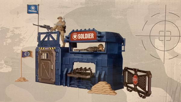Military Play Set Kids New Playville