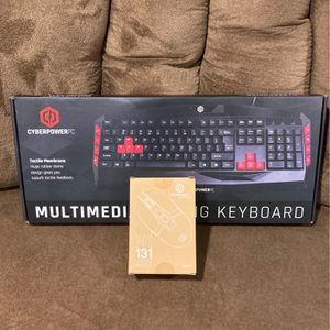 Gaming Keyboard With Mouse for Sale in Pine Beach, NJ
