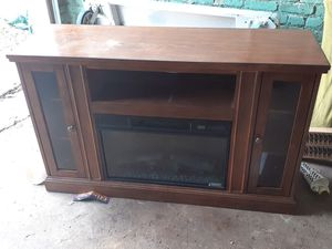 Entertainment Center/Electric Fireplace for Sale in Washington, DC