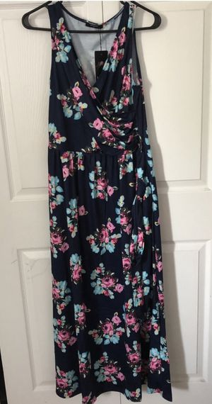 Brand new Long Dresses for Women with Pockets Maxi Dress Sleeveless V Neck Size XL (pick up only) for Sale in Alexandria, VA