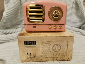 Retro Bluetooth Speaker Subwoofer Deep Bass Stereo Sound Box Portable HiFi for Sale in Brea, CA