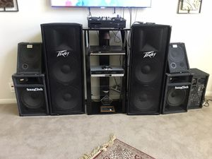 Sound system with mixer and power amplifier for Sale in Richmond, TX