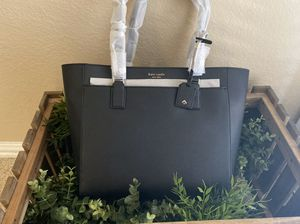 Kate Spade laptop large tote black for Sale in Katy, TX
