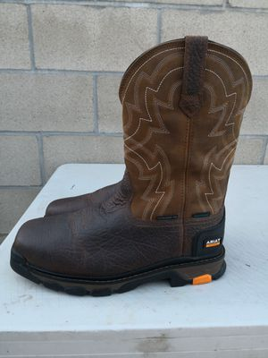 Ariat composite toe work boots size 11.5 EE for Sale in Riverside, CA