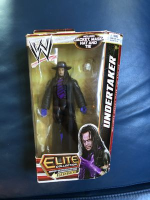 WWE WWF Elite Collection Flashback Undertaker action figure rare for Sale in Los Angeles, CA