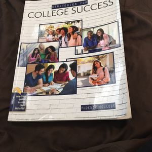 Strategies For College Success Text Book for Sale in Phoenix, AZ