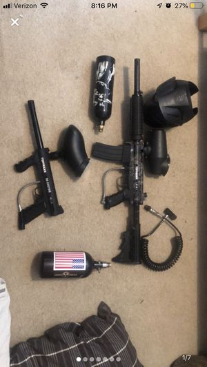 Paintball guns 250$ or best offer willing to negotiate for Sale in Akron, OH