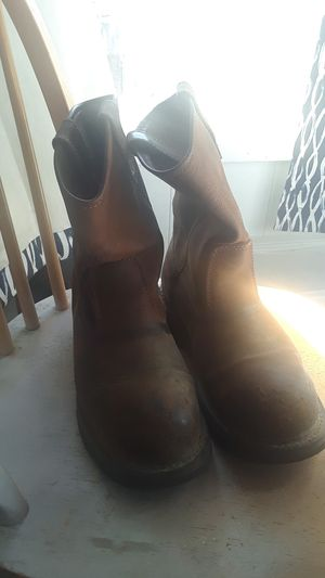 Wolverine work boots. Size 8 1/2. for Sale in Bakersfield, CA