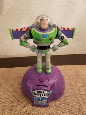 1995 Vintage Toy Story Buzz Lightyear Talking Bank for Sale in Gilbert, AZ