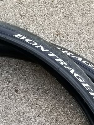 New bontrager hybrid mountain bike 26 x 150 pair cruiser tires $35 firm for Sale in Hoffman Estates, IL