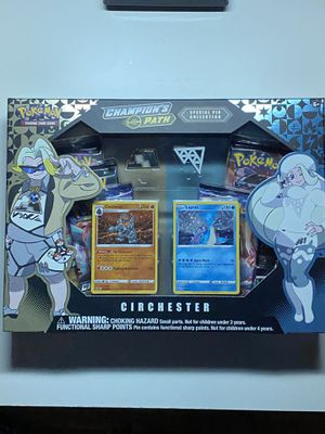 Pokemon Champions Path Special Pin Collection Circhester for Sale in Elk Grove, CA