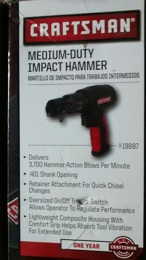 Craftsman Impact Hammer for Sale in Eldersburg, MD