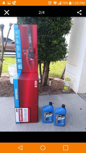 Craftsman Electric Chainsaw for Sale in Riverview, FL