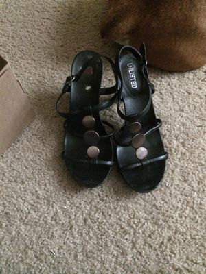 Black high heels size 8 for Sale in Imperial, MO