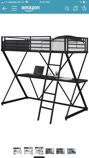 Bunk bed with desk for Sale in Queens, NY