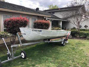 Aluminum Boat w/ (2) Motors for Sale in Stockton, CA