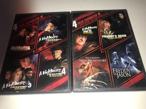 A Nightmare On Elm Street 8 film DVD set for Sale in Corona, CA