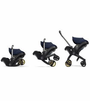Doona Infant Car Seat/Stroller - Available in Black, Grey, Blue, Green, Red, or Pink for Sale in Pasadena, CA