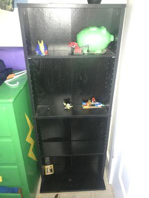 Small black DVD shelves for Sale in Austin, TX