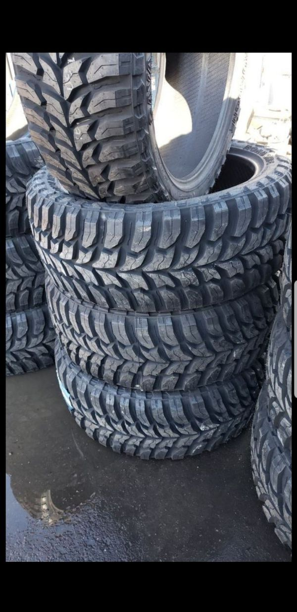 Brand New set road one MUD terrain tires 35 1250 24 lt