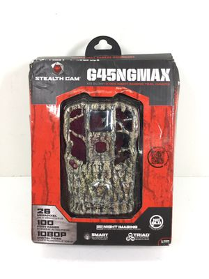Stealth Cam No-Glow Hi-Res Night imaging Trail Camera G45NGMAX for Sale in Auburn, WA
